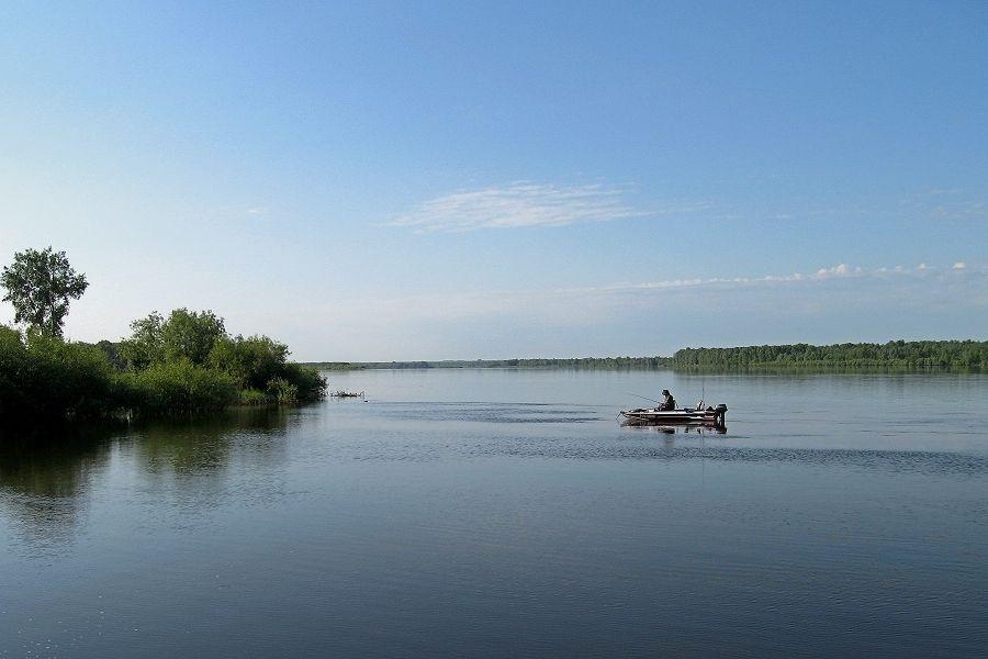 Уровень воды река Обь