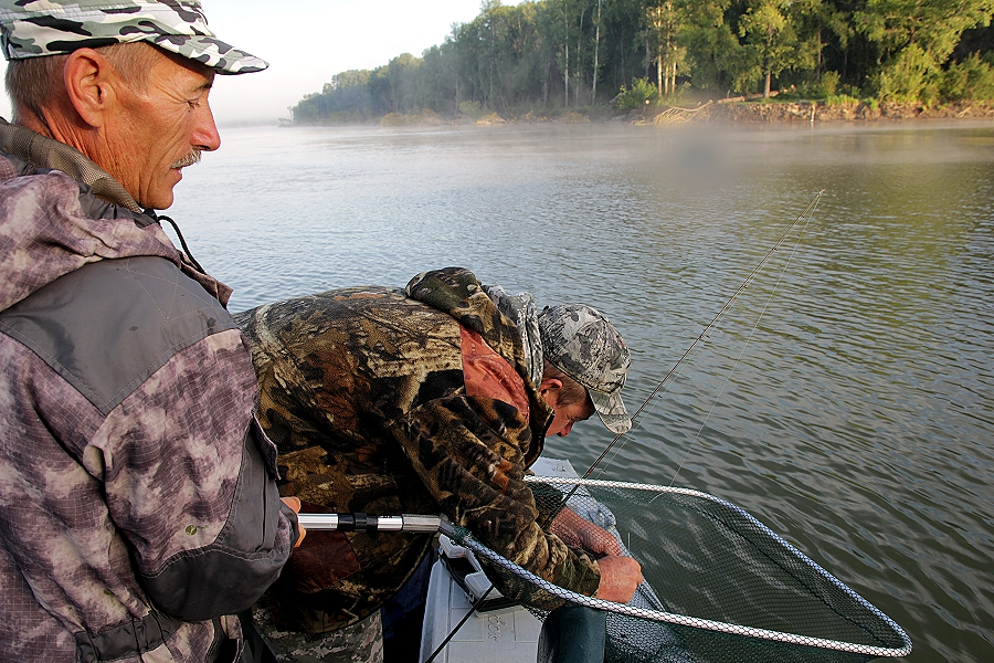 рыбалка в Сузуне