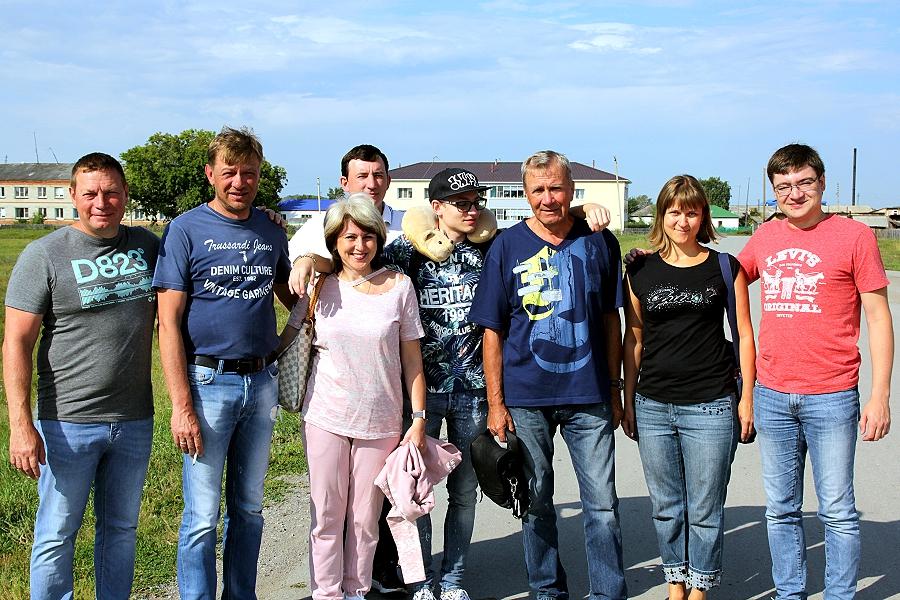 Московские гости в Сибири