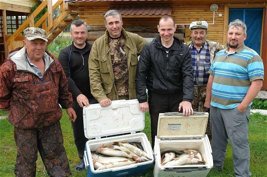 Рыбалка в Новосибирской Области.