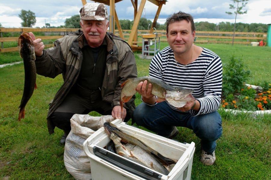 Рыболовный тур выходного дня.