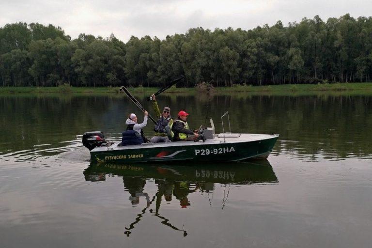 Рыбалка с егерем