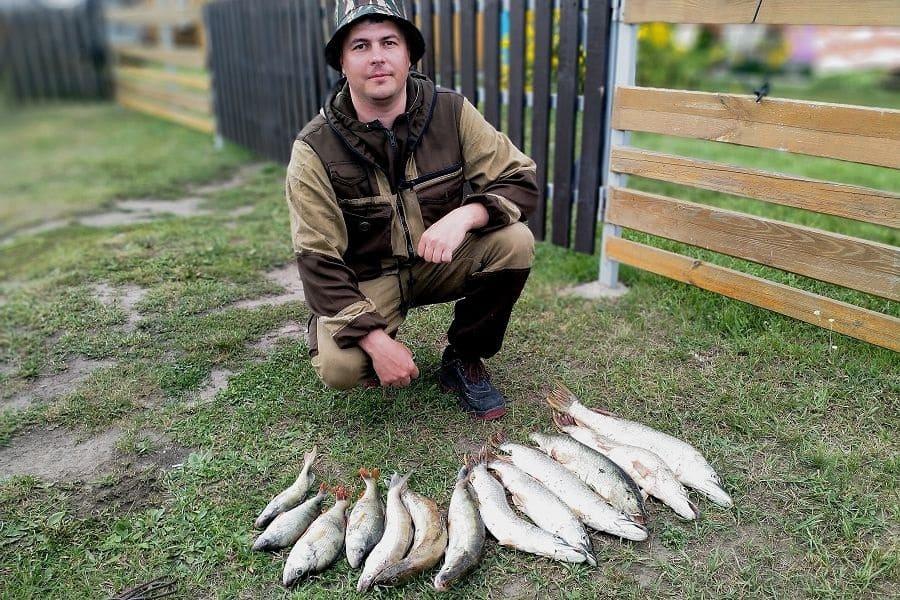 Рыбалка в выходные дни.